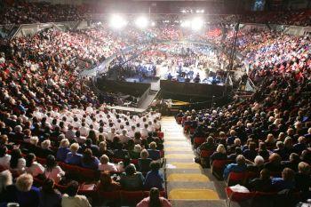 Missionary event in Yad Elyiahu (Tel-Aviv)